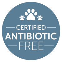 Certified Antibiotic Free Dog food & Cat food