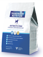 Antibiotic free, humane, chicken & brown rice dog food