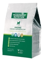 Certified USDA Organic, humane, chicken & brown rice dog food
