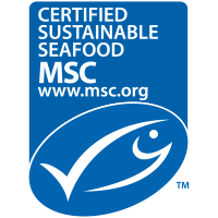 Certified Sustainably Harvested Seafood dog food & cat food